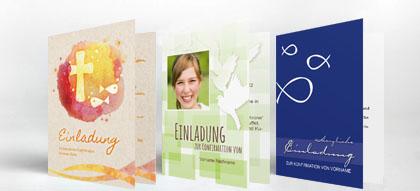 einladungskarten konfirmation einladung | familieneinladungen.de, Einladung