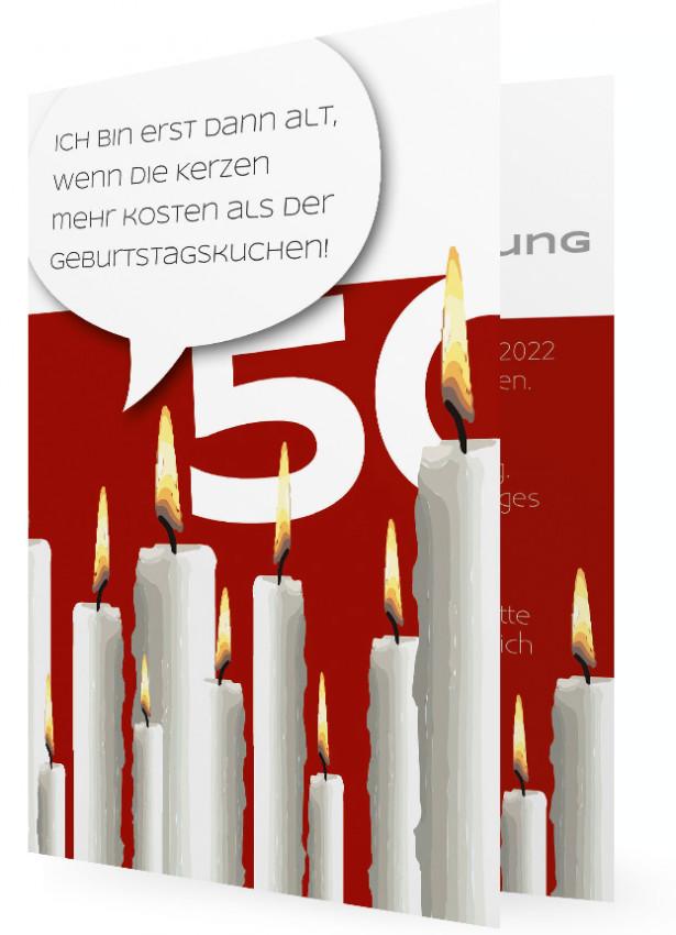 50. Geburtstagseinladungen Vorlage   Familieneinladungen.de