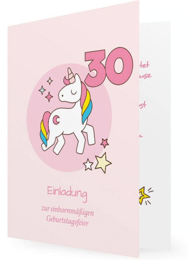 Einladung Fur 30 Geburtstag Familieneinladungen De