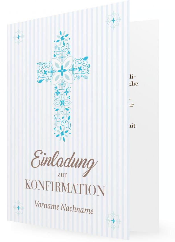 Einladungskarten Zur Konfirmation Selbst Gestalten: Einladung Konfirmation Gestalten