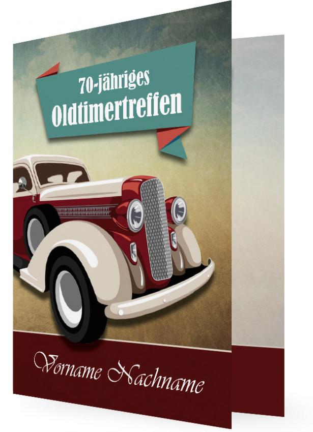 Einladung Zum 70., Oldtimer