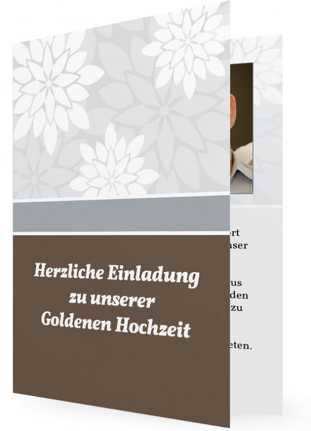 Einladung Zur Goldenen Hochzeit Familieneinladungen De