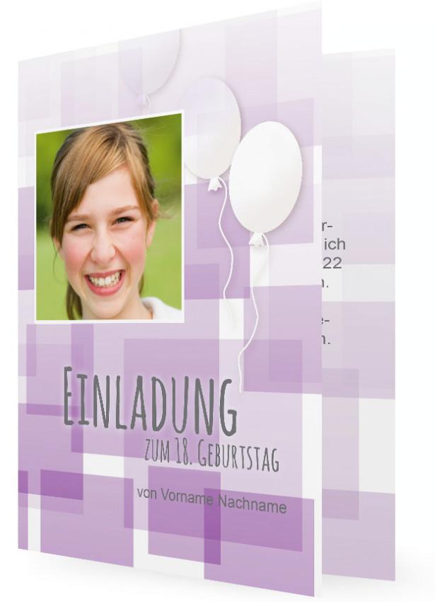einladungen 18. geburtstag | familieneinladungen.de, Einladungen