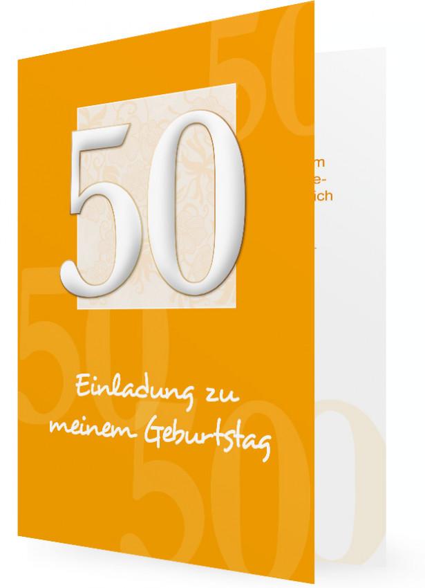 Einladungen 50 Geburtstag Familieneinladungen De