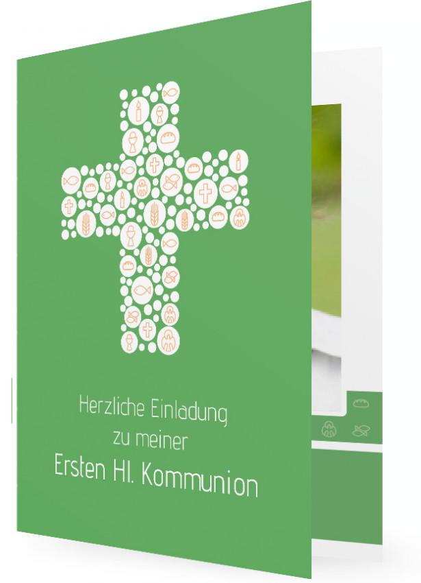 einladungen zur erstkommunion | familieneinladungen.de, Einladung
