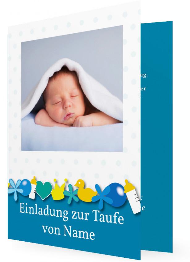 einladungen zur taufe, taufeinladungen | familieneinladungen.de, Einladungsentwurf