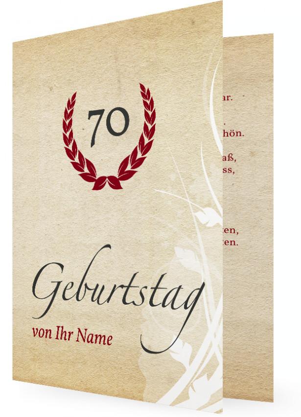 Permalink to Einladung Zum 70 Geburtstag Vorlage
