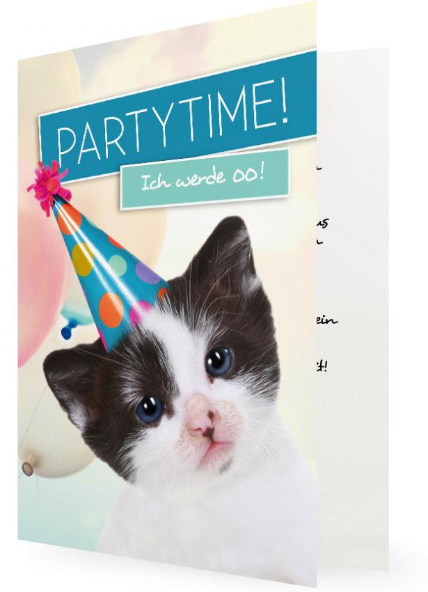 Einladungskarte Geburtstag lustig | Familieneinladungen.de