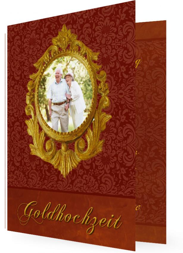 Karten Fur Goldene Hochzeit Familieneinladungen De