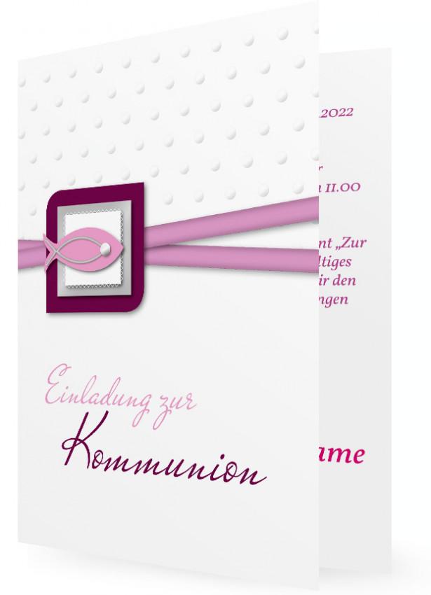 Erstkommunion Einladungen Familieneinladungende