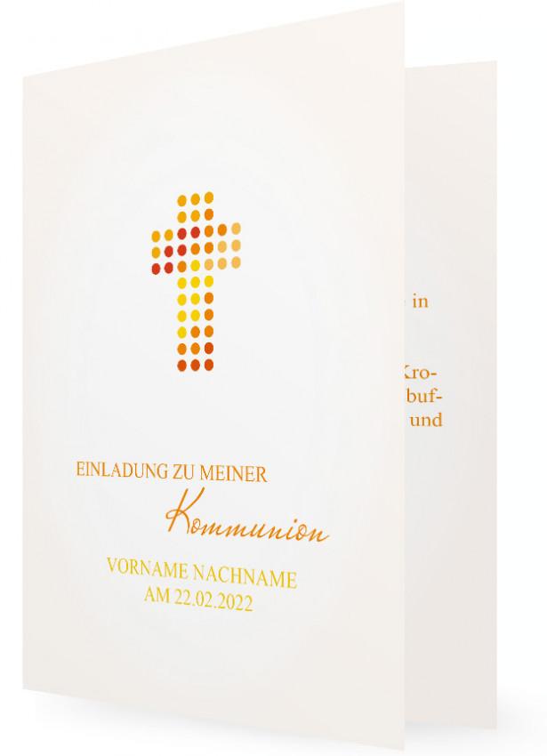 erstkommunion einladungen vorlage | familieneinladungen.de, Einladung