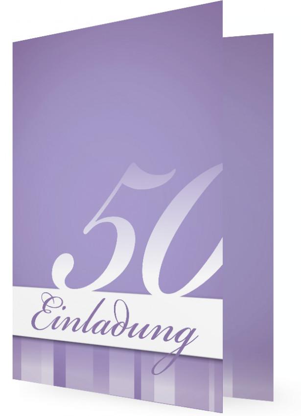 Geburtstagseinladung 50 vorlage text