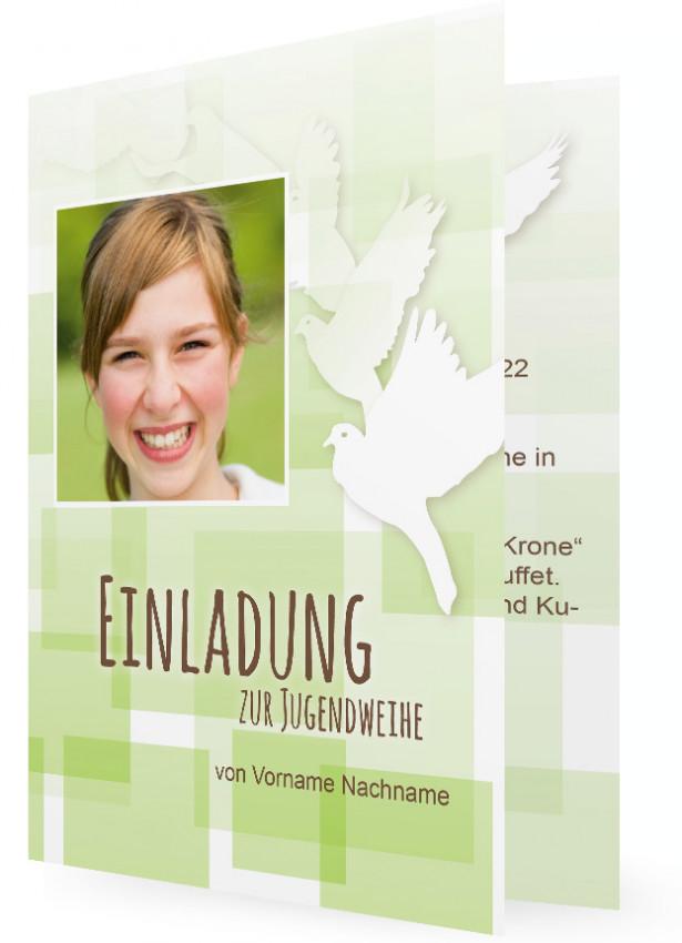 jugendweihe einladungskarten | familieneinladungen.de, Einladung