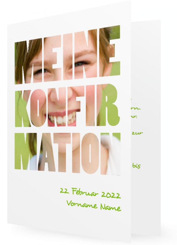 karte einladung konfirmation | familieneinladungen.de