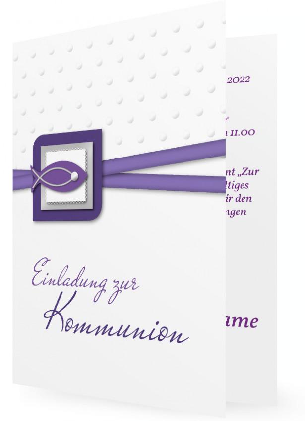 Kommunion Einladung | Familieneinladungen.de