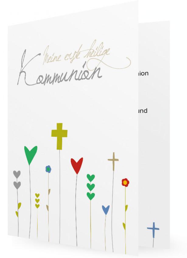Kommunion Einladung Vorlage | Familieneinladungen.de