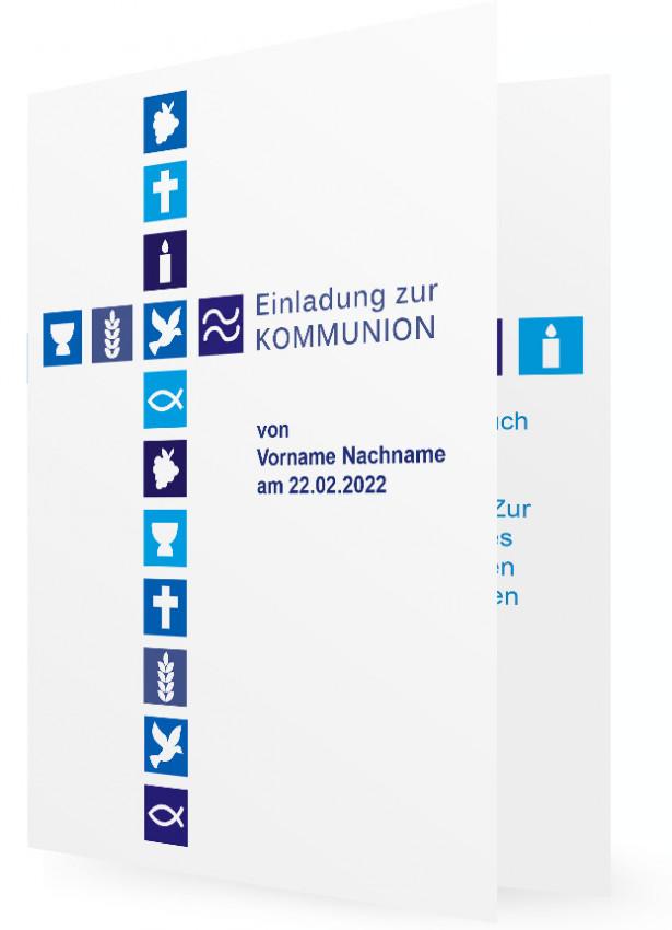 vorlage einladung kommunion – onconnect, Einladung