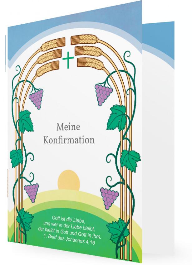 Konfirmation Einladungskarte | Familieneinladungen.de