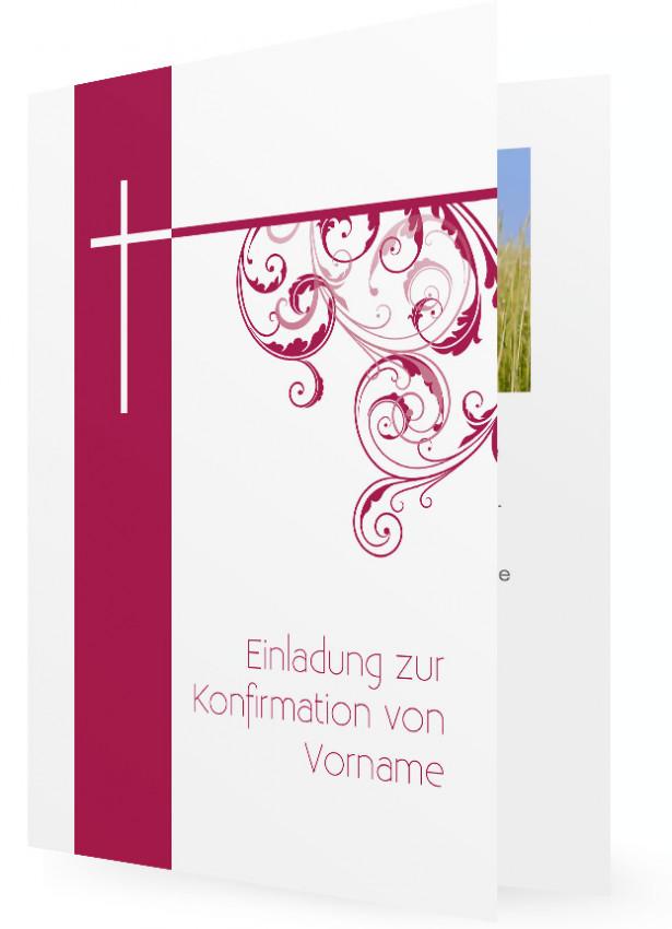 konfirmation einladungskarten | familieneinladungen.de