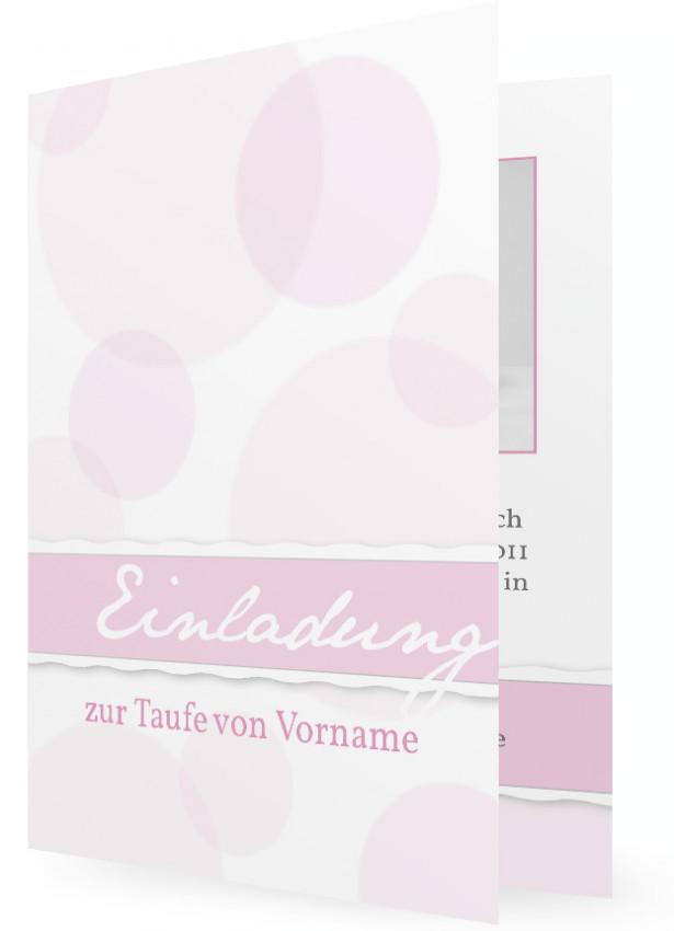 Taufe, Einladungskarte | Familieneinladungen.de, Kreative Einladungen