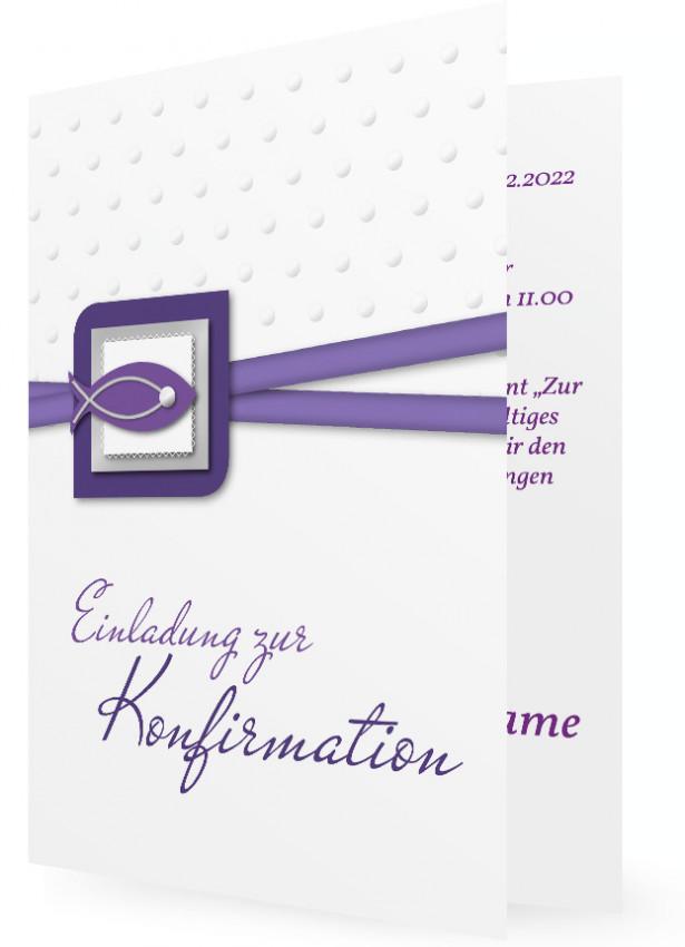 vorlage einladung zur konfirmation | familieneinladungen.de, Einladung