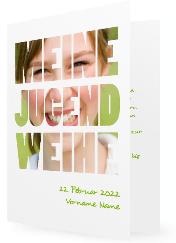 Vorlage für Jugendweihe Einladungen | Familieneinladungen.de