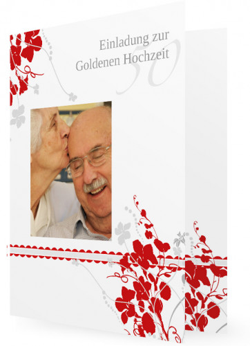 Einladung goldene hochzeit karten für goldene hochzeit artikelnummer
