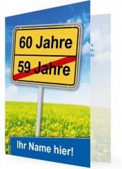 Einladungskarten 60 Geburtstag Einladung Familieneinladungende