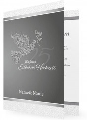 Einladungskarten Silberhochzeit Einladungen Familieneinladungen De