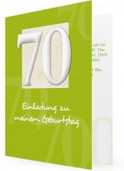 Einladungskarten 70 Geburtstag Einladung Familieneinladungen De