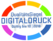 Qualit�tssiegel Digitaldruck